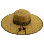 Mixed Braid Sun Hat