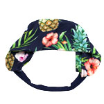 Pine and Flower Headband