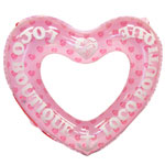Heart Girl Heart Shape Swim Ring