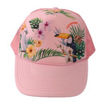 Tropical Bird Mesh Cap