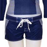 Basic Stripe Boardshort