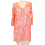 Coral 2.0 Tunic Cover Up