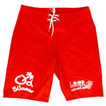 Loco Red Men's Long Boardshort
