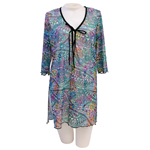 Hawaiian Tat Tunic Cover Up