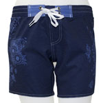 Watermark Mid-Thigh Length Boardshort