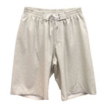 Boys Linen Elastic Gathered Waist Men's Boardshorts