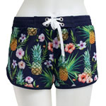 Pine and Flower Boardshort
