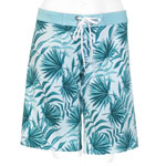 Tropical Leaves Long Boardshorts