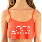 Loco Promo Sporty Crop Top