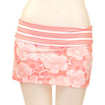 Hibiscus Line Reversible Skirt