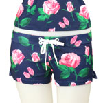 Loco Roses Fitted Shorts