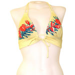 Retro Hawaii Keyhole Front Banded Chest