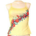 Retro Hawaii Cami Tankini