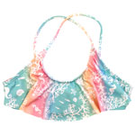 Sea Life Kid's Flounce Crop Top