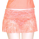 Pure Lace Flared Skort