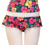 Tropical Flower Skirted Bottom