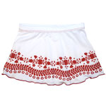 Loco Broidery Kid's 1-inch Banded Skirt