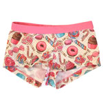 Sweet Treats Kid's 1-inch Banded Boyshorts