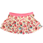 Sweet Treats Kid's Double Ruffle Skirt