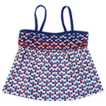 Heart of Arrow Kid's Tankini Top