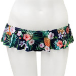 Pine and Flower Skirted Bottom