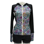 Hawaiian Tat Hooded Rashguard