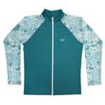 Hibis and Palm Men's Rashguard