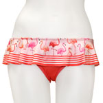Flamingo Skirted Bottom