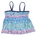 By the Shore Kid's Tankini Top