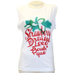 Strawberry Square Sleeve Tank Top