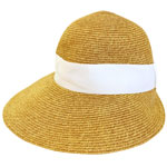 Backless Straw Hat