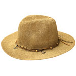 Panama Hat with Charms