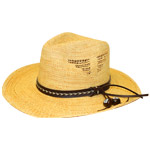 Side Cutout Straw Hat