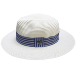 Nautical Panama Hat