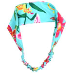 Tropical Orchid Head Wrap