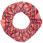 Batik Stripe Hair Tie - Thick