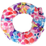 Rainbow Shower Tree Hair Tie - Thick