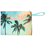 Palm Photo Clutch Purse
