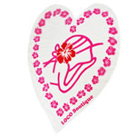 Sweet Heart Girl Heart Shape Towel