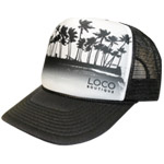 Palm Trees Mesh Cap