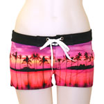 Purple Sunset Boardshort