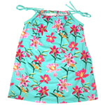 Tropical Orchid Kids A-line Dress