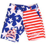 Flag Men's Walking Boardshort