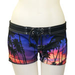 Purple Evening Boardshorts