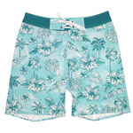 Hibis and Palm Men's Boardshort