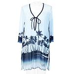 Palm Tree Tunic Cover Up