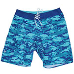 Camo Hibis Men's Boardshort