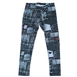 Denim Patches Legging