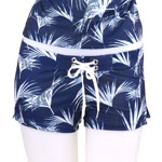 Floating Palm Fitted Shorts