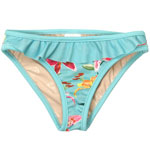 Tropical Orchid Kid's Flounce Front Bottom